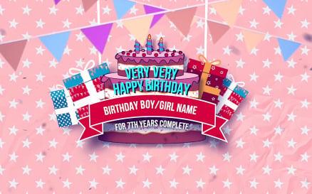Happy Birthday Slideshow - Final Cut Pro Template