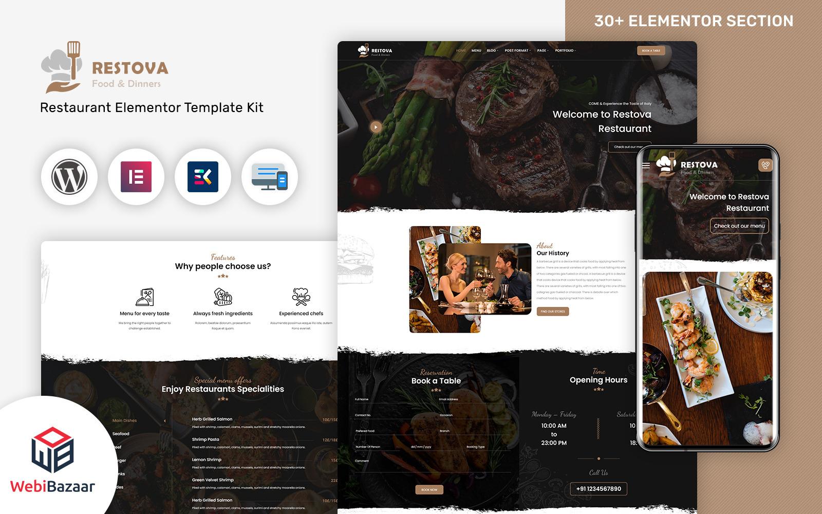 Restova WordPress Theme 186326