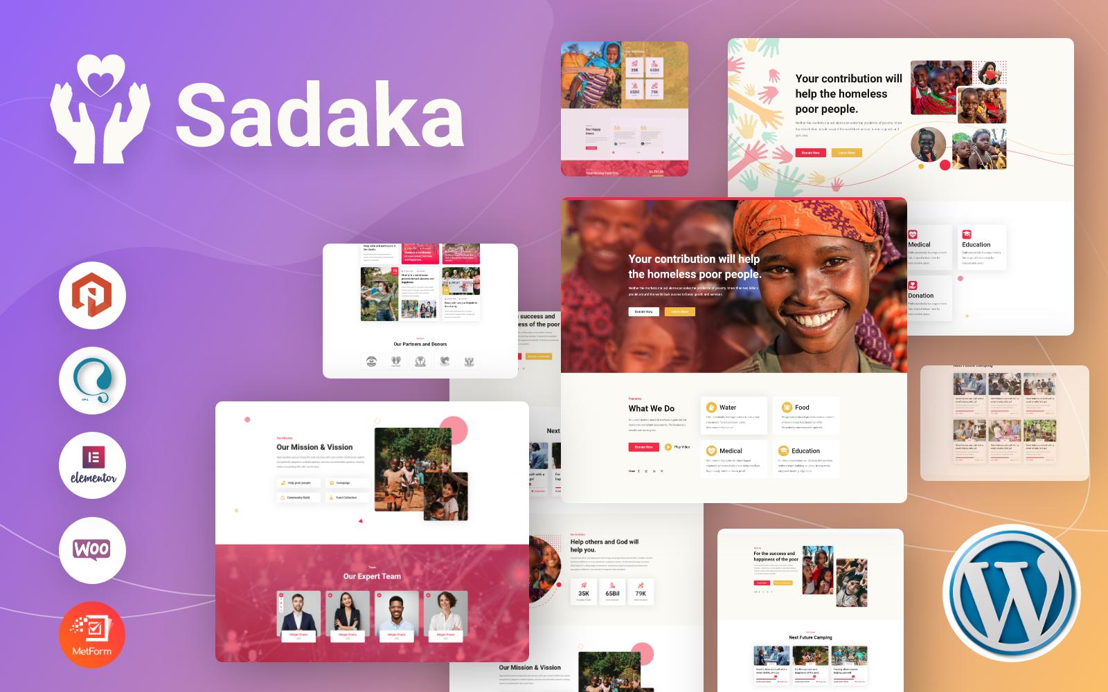 Sadaka WordPress Theme 187933