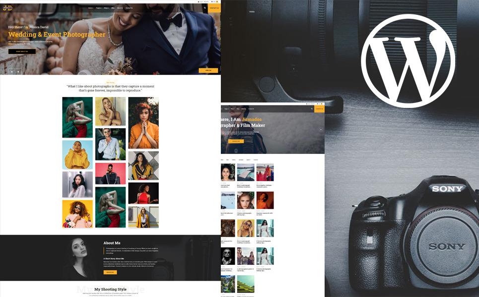 WordPress Theme 110423