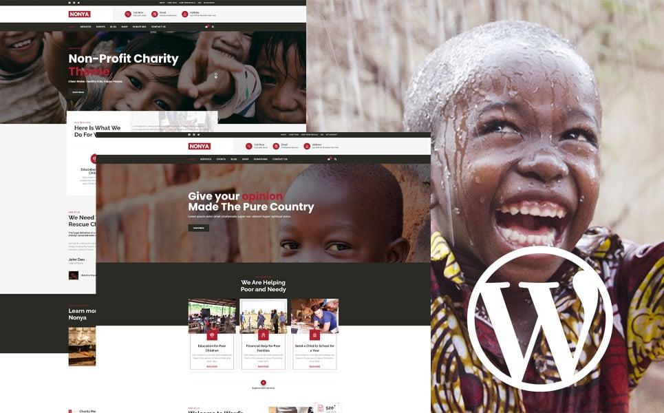 WordPress Theme 110428