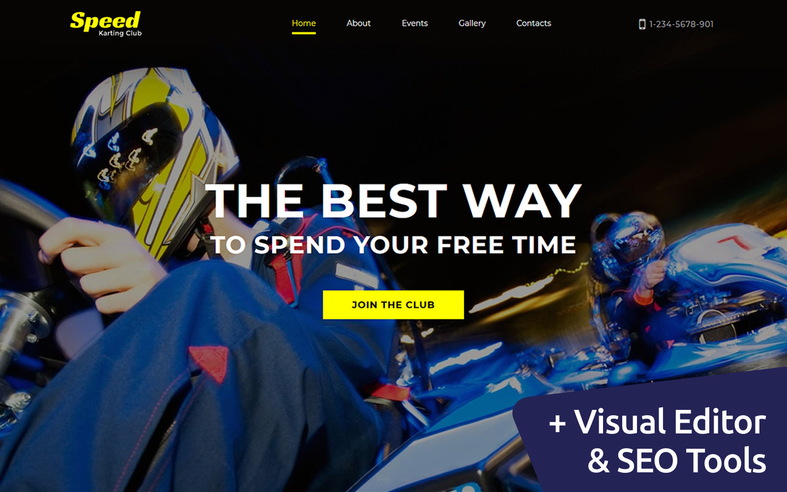 MotoCMS Website 115077