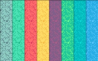 High Tech Seamless Print Pattern