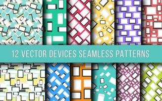 Technics & Devices Seamless Pattern