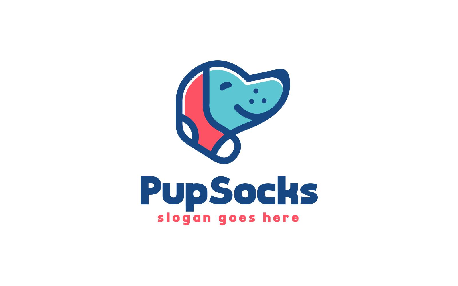 "Tema di Loghi #160320 ""Puppy Socks"""