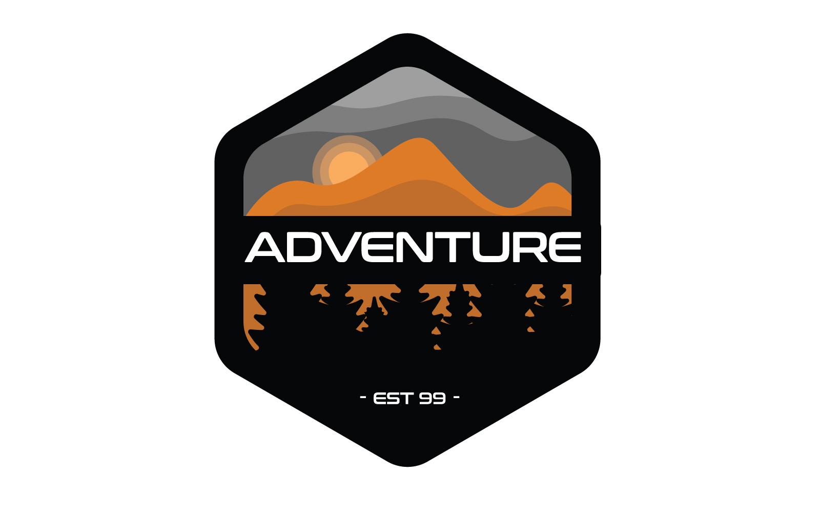 """Tema di Loghi #160326 """"Adventure Badge"""""""