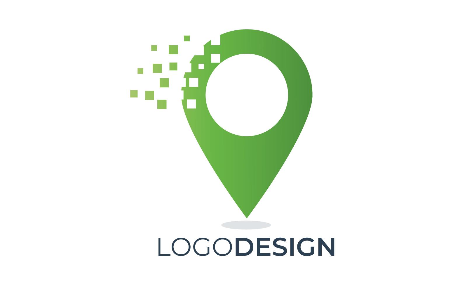 """Template di Loghi #160318 """"Pin Pixel Location"""""""