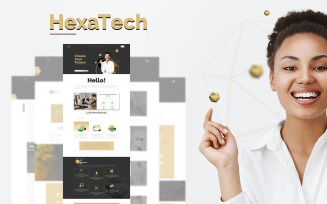 Hexatech - Tech Company Template Elementor Kit