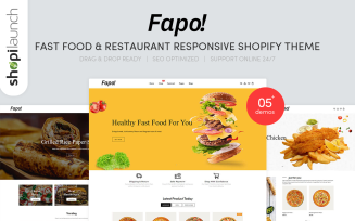 Fapo - Fast Food & Restaurant Responsive Shopify Theme