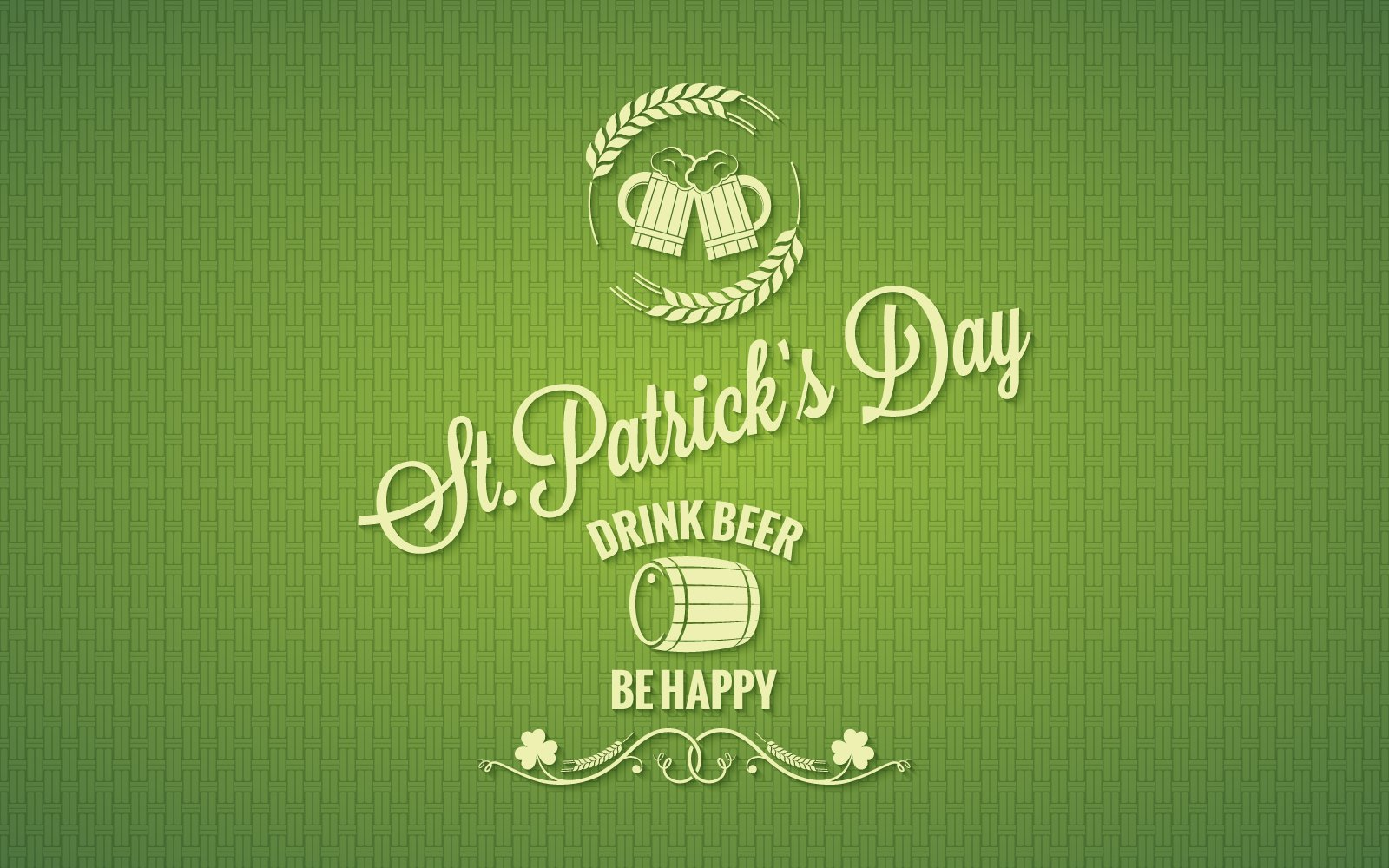 "Plantilla De Identidad Corporativa ""Patrick Day Beer Design Background."" #160642"
