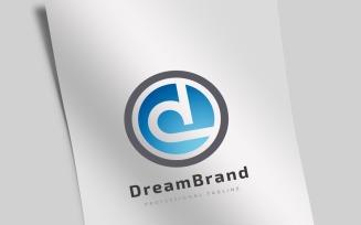 Dream Brand Letter D Logo Template