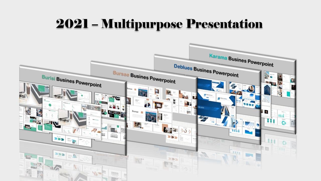 """""""Multipurpose Bundle"""" modèle PowerPoint Premium #160732"""