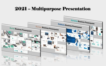 Multipurpose Bundle PowerPoint template PowerPoint Template