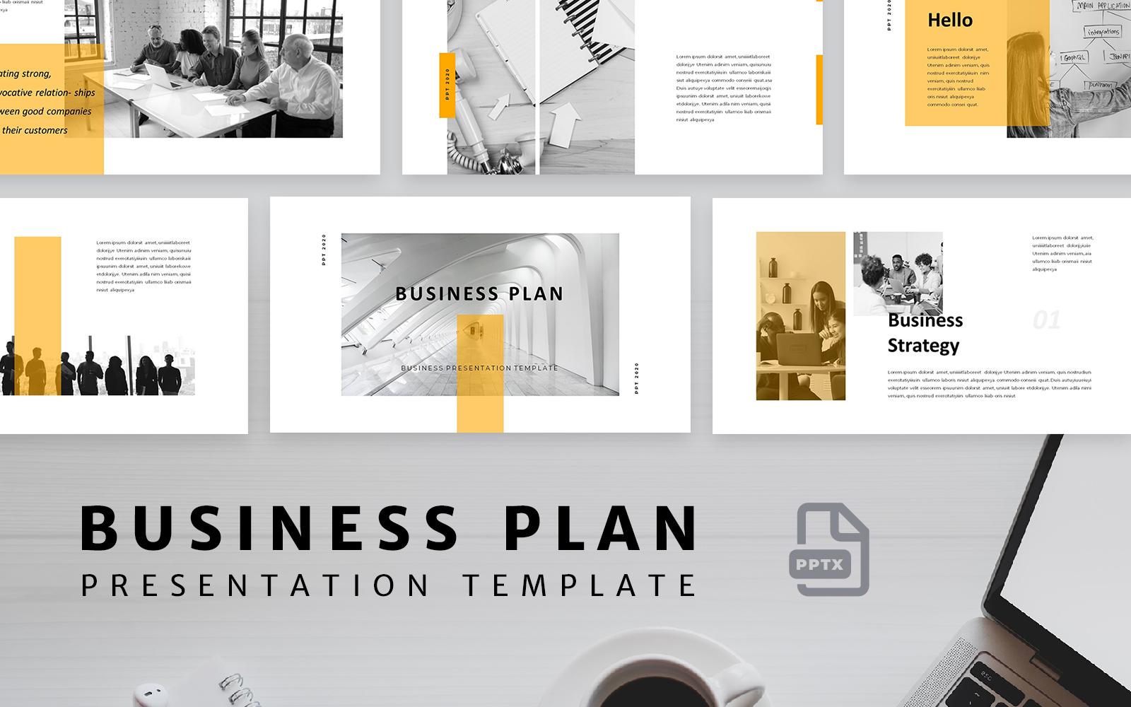 """PowerPoint šablona """"Business Plan"""" #160733"""