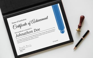 John Certificate Template
