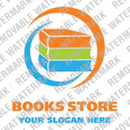 Books Logo  Template 16119