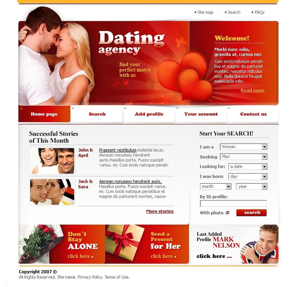 Дизайны Для Сайта Знакомств