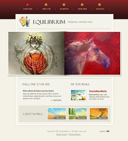 Website Template #16165