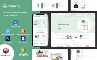Floorsy - Responsive Furniture Shopify Theme