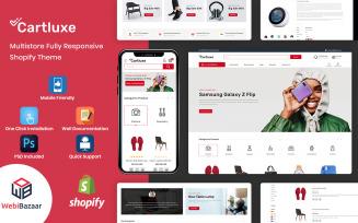 Cartluxe - Minimal Modern Mulistore Shopify Theme