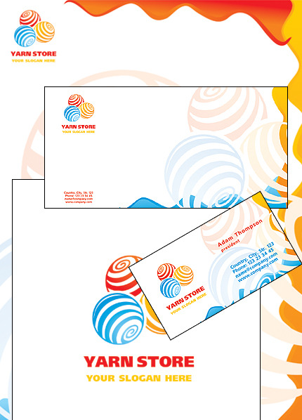 Crafts Corporate Identity Template Vector Corporate Identity preview