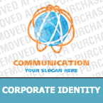 Communications Corporate Identity Template 16225