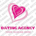 Dating Logo  Template 16227