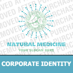 Medical Corporate Identity Template 16268