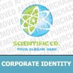 Science Corporate Identity Template 16270