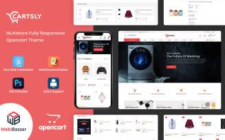 Cartsly - Responsive Multi-Purpose OpenCart Template