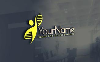 Genetic Logo Template