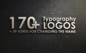 170+ Typography Logo Template