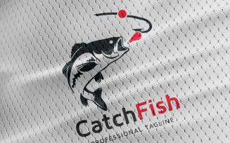 Catch Fish Logo Template