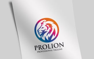 Professional Lion Logo Template
