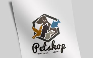 Pet Shop Logo Template