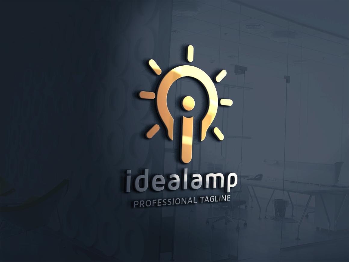 """Idea Lamp letter i v.2 Logo Template"" Logo template №162859"