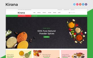 Kirana OpenCart Template