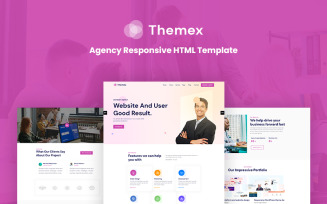 Themex - Agency HTML5 Responsive Website Template