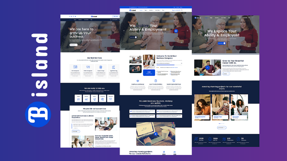 Bisland - Corporate Business HTML5 Website Template