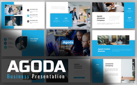 Agoda Business PowerPoint Template