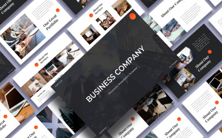 Business Company – Presentation PowerPoint Template