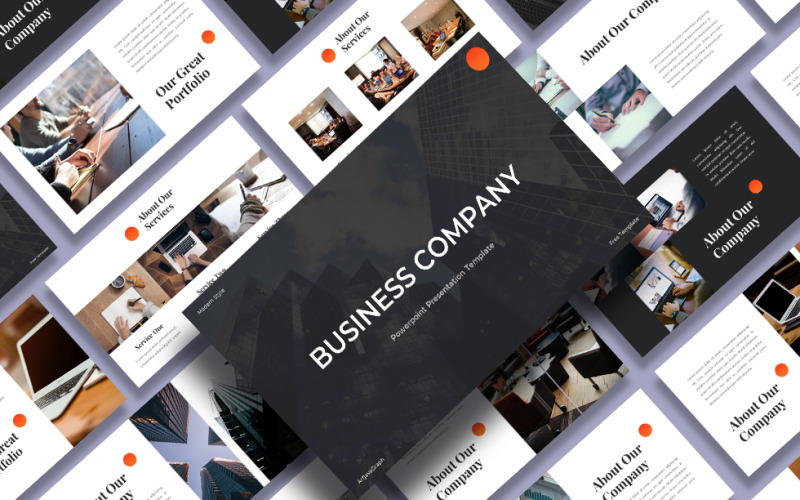 Business Company – Presentation PowerPoint template PowerPoint Template