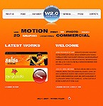 Flash: Web Design Web Design Flash Site Flash 8 Web 2.0 Templates
