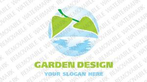 Garden Design Logo Template vlogo