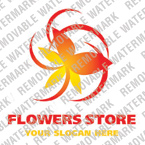 Flowers Logo  Template 16381
