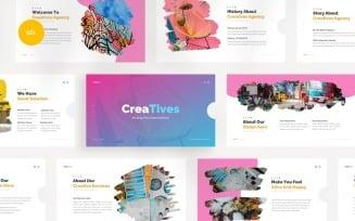 Creatives Creative Agency Google Slides