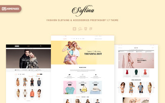 Softina - Fashion, Clothing & Accessories PrestaShop Theme