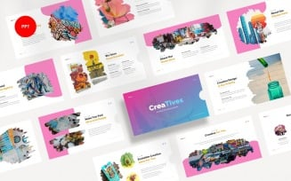 Creatives Creative Agency PowerPoint template