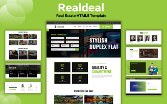 Realdeal - Real Estate Website Template