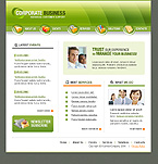 SWiSH Animated: Business Full Package CSS Swish Animated Most Popular St. Patrick Green Templates